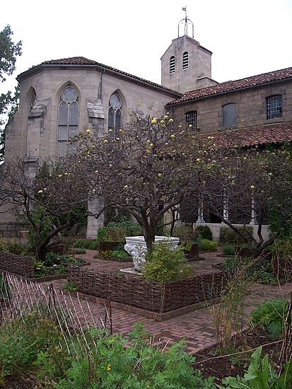 The-cloisters-herb-garden