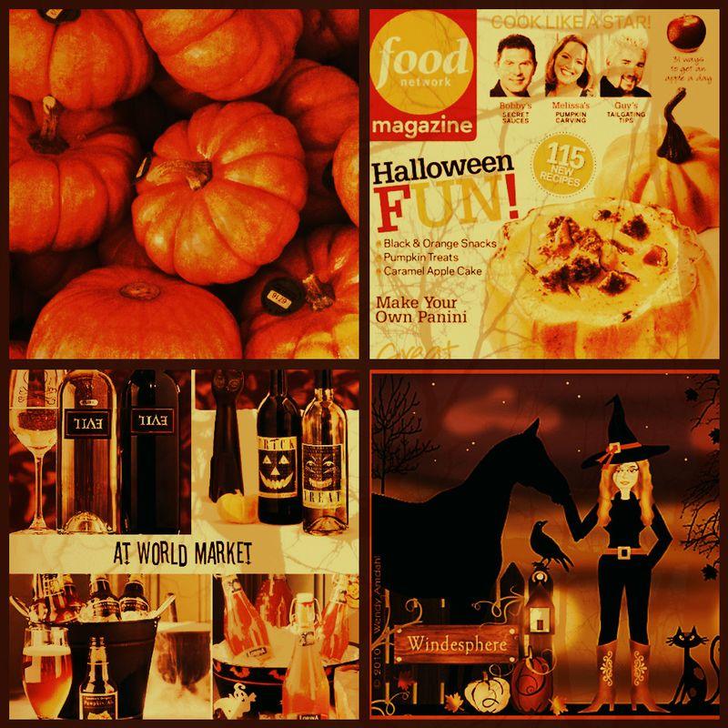 Decorating contest collage