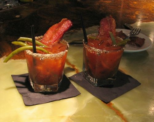 Boston bacon bloody mary