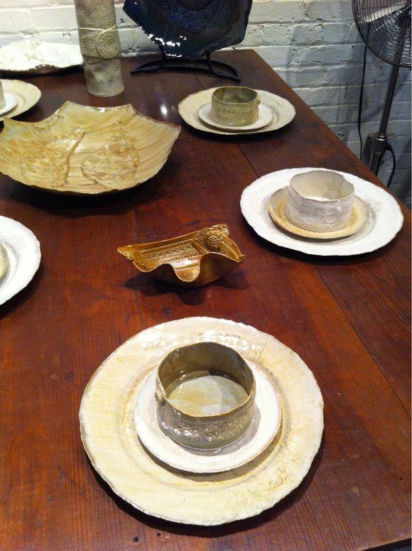 Dinnerware I adore! Michael Hofman Hand built porcelain