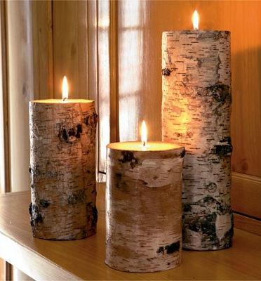Birch-candles