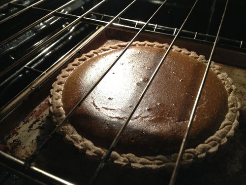 Skinny Sexy Slow Food: Maple , Caramel Pumpkin Pie