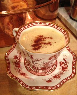 Homemade Pumpkin Spice Latte's