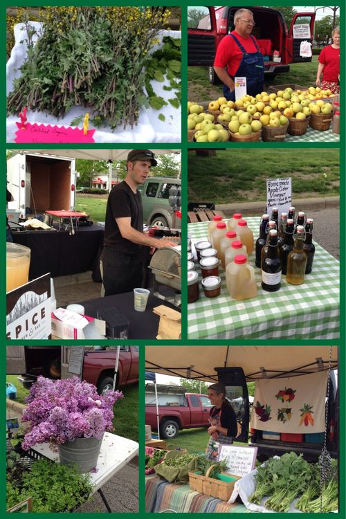 Scenes from this mornings market!