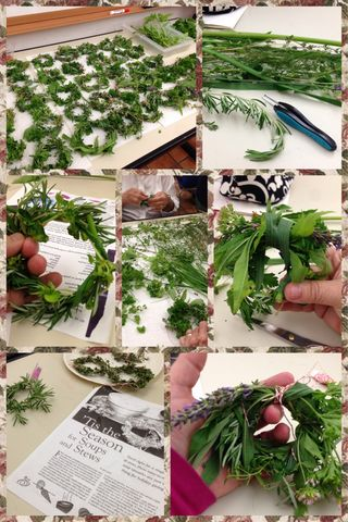 Kitchen Apothecary~ Herbal Soup Wreaths