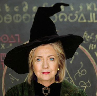 Clinton-the-witch