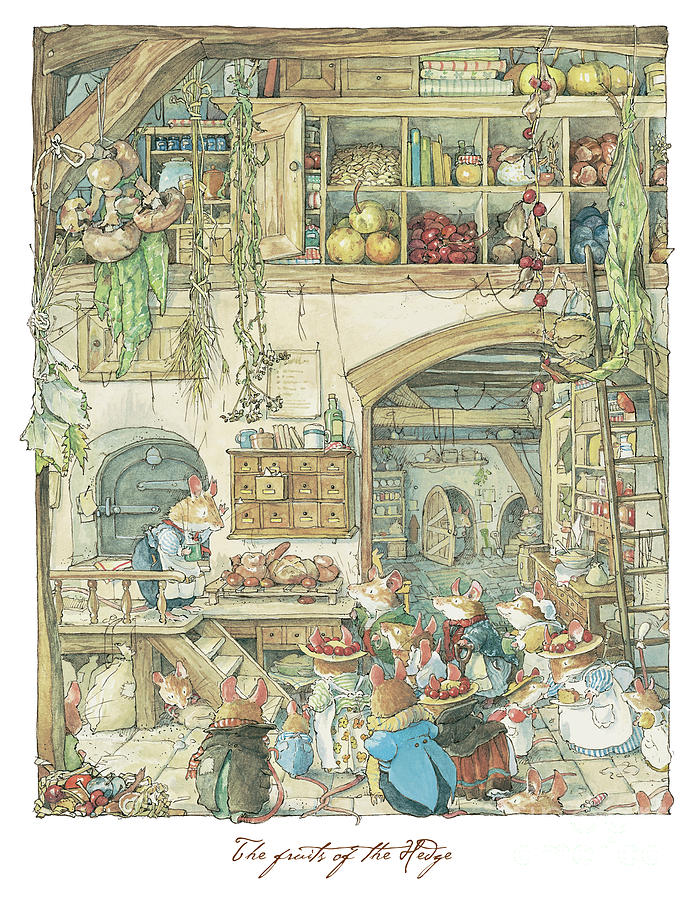 The-fruits-of-the-hedge-brambly-hedge